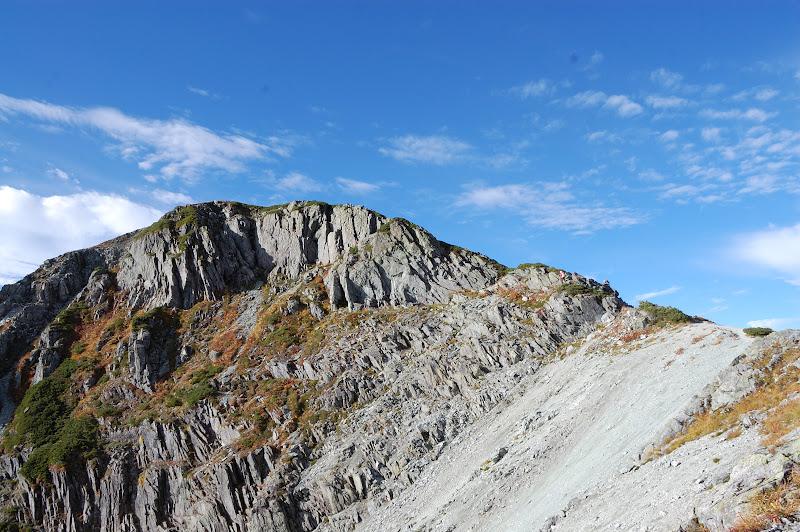 南岳最後の登り