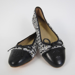 Chanel Boucle NEW Ballet Flats