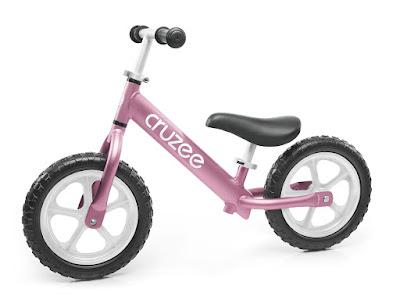 Xe thăng bằng Cruzee màu hồng phớt