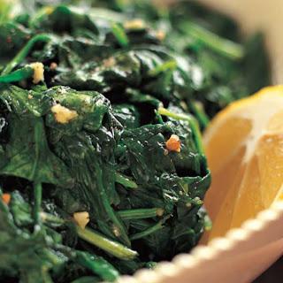 Garlic Sautéed Spinach