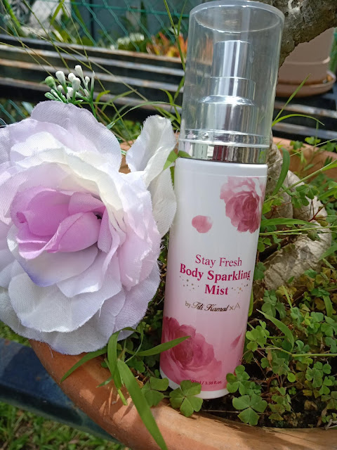 Harum Dan Segar Dengan Stay Fresh Body Sparkling Mist By Titi Kamal x Althea