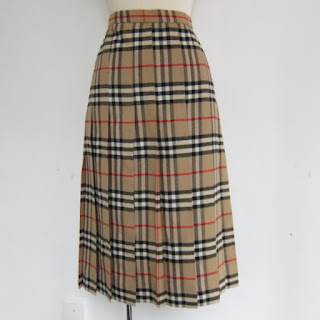 Burberry Vintage Kilt