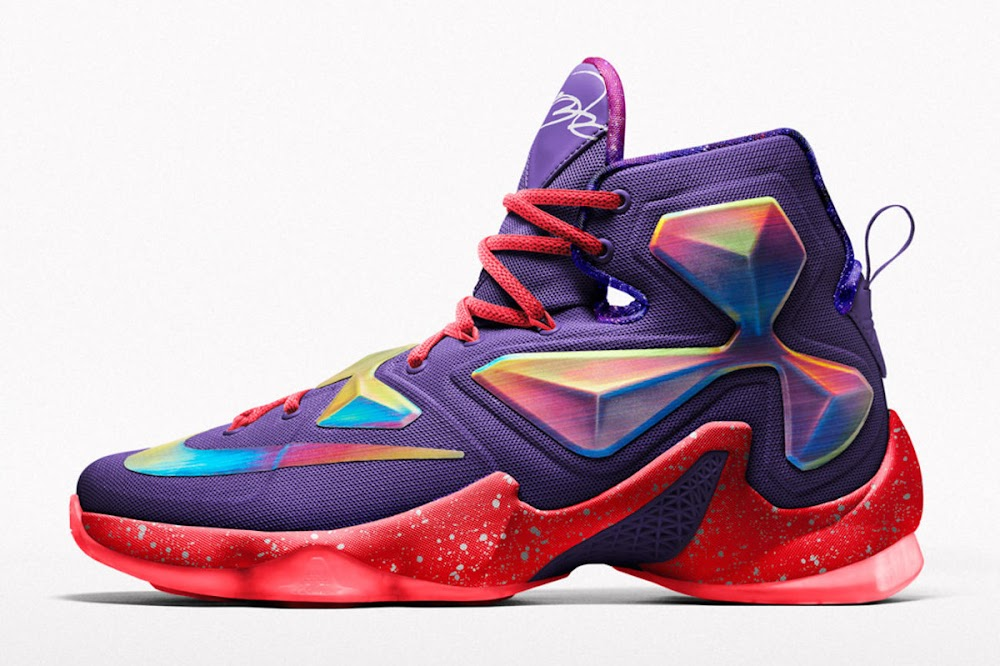 Nike Creates Special AllStar Options for LEBRON 13 on NIKEiD ...