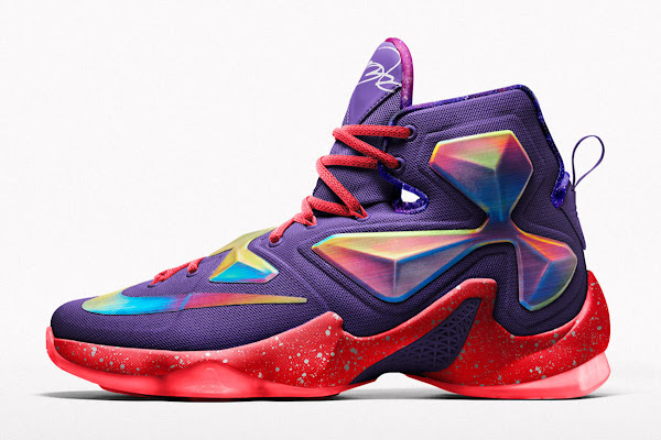 Nike Creates Special AllStar Options for LEBRON 13 on NIKEiD