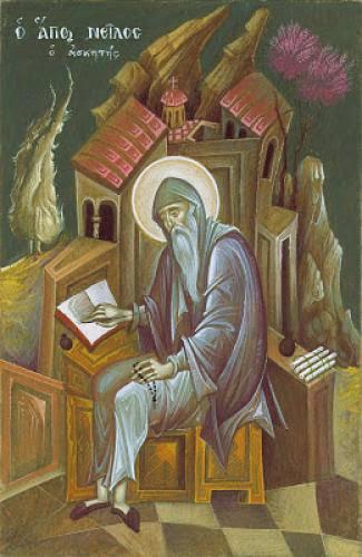 Saint Nilus The Ascetic As A Model For Our Lives