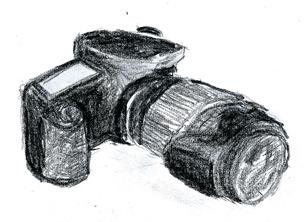 Pentax K20D in charcoal