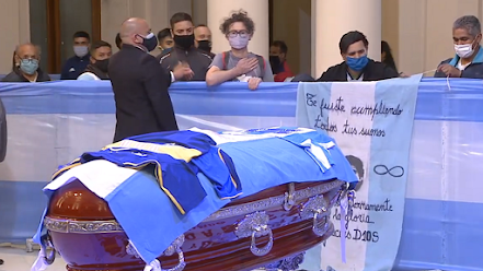 Diego Maradona  laid to rest in Argentina