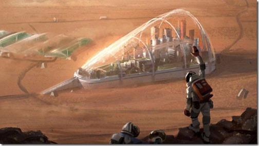 Capsule su Marte
