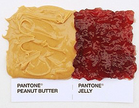 pantone peanut butter and jelly