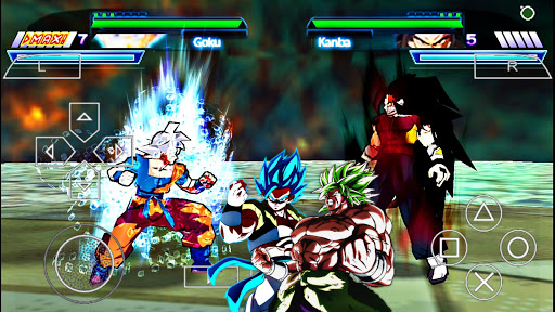 Descargar DRAGON BALL Z SHIN BUDOKAI 2 MOD SUPER BROLY (POWER Para (PPSSPP/ANDROID
