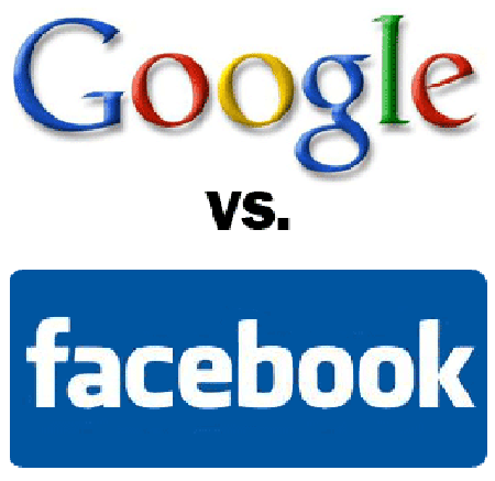 Infographic : Facebook VS Google