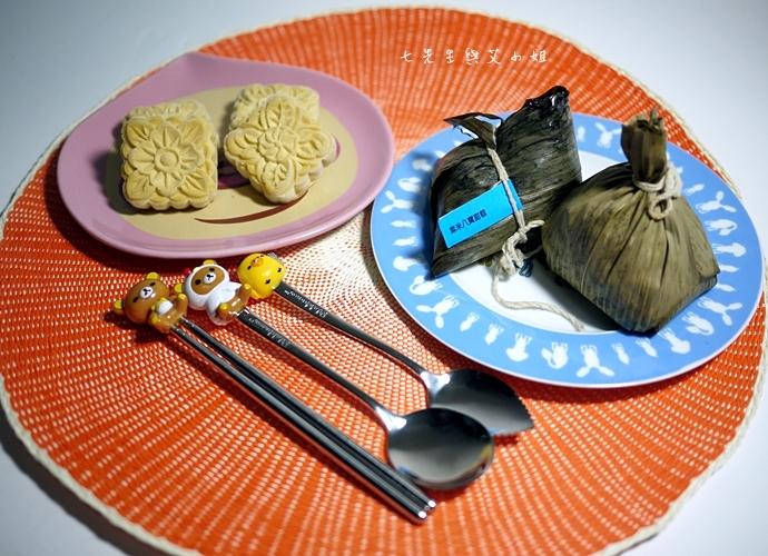 19 新東陽小湘粽 紫米 八寶甜粽 雪藏綠豆糕