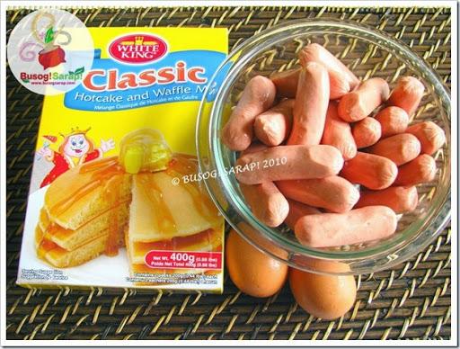 corn dog recipe pancake mix