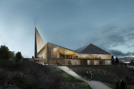 Community church knarvick design by RRA architects