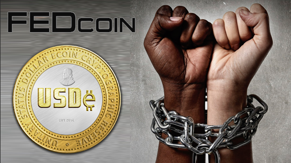 FEDcoin - Cryptocurrency by Federal Reserve Bank