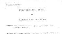Kooij, Cornelis J. en Ham, Aartje v.d. Ondertrouw 31-8-1928.jpg