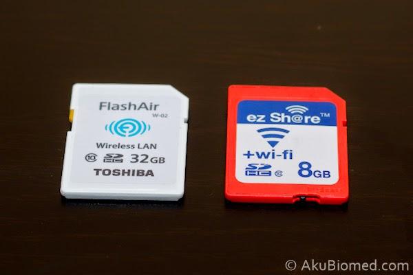 Toshiba FlashAir dan Ez Sh@re