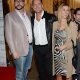 WWW.ENTSIMAGES.COM -  Jonathan Sothcott, Craig Fairbrass and Elke Kellick   arriving at    Soul Boys Of The Western World - UK film premiere at Royal Albert Hall, London September 30th 2014Premiere of documentary about the group, charting their rise to fame in the 1980s - Spandau Ballet The Film                                                    Photo Mobis Photos/OIC 0203 174 1069