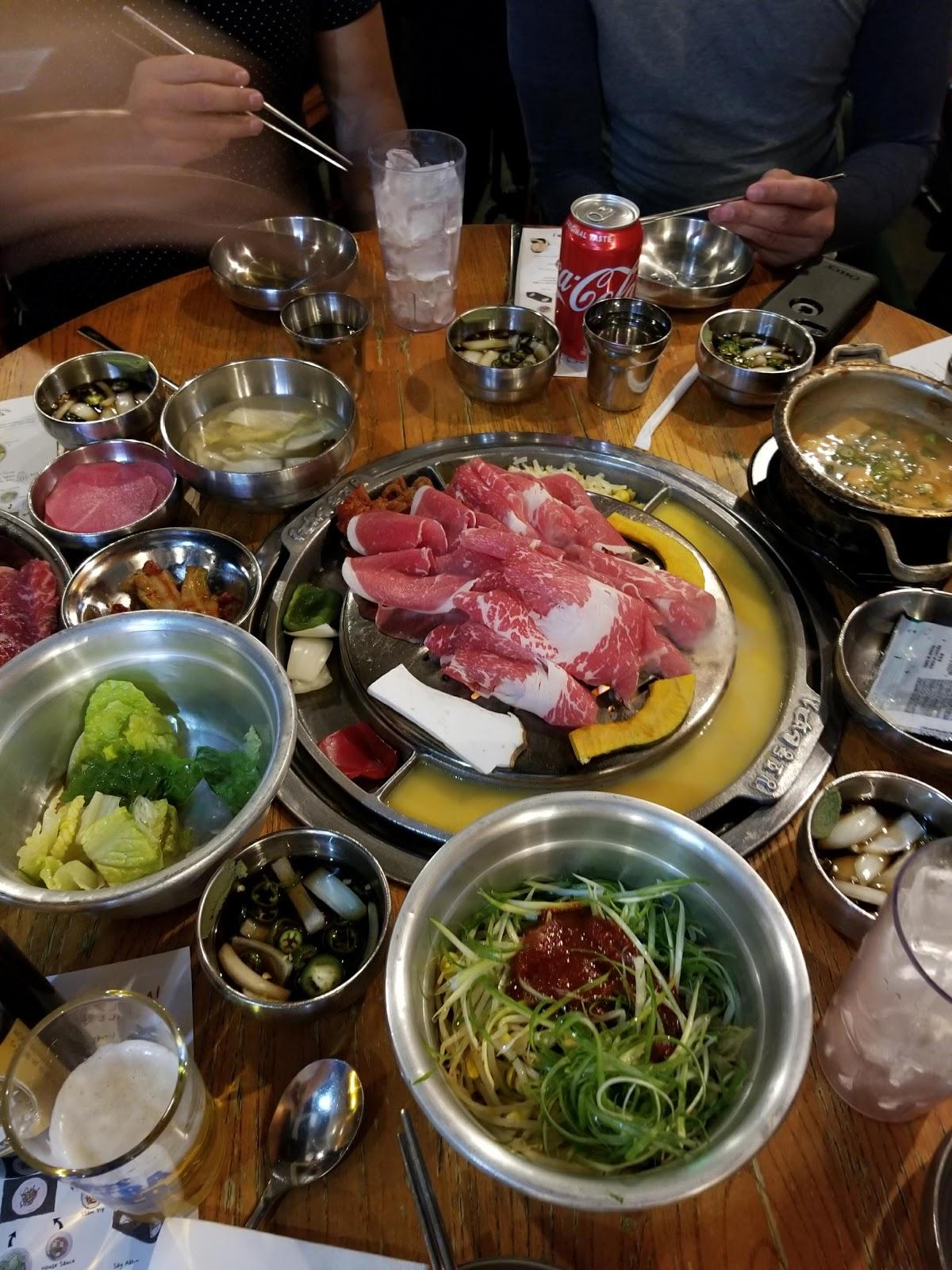 Koreatown los angeles LA foodie seattle blogger