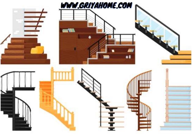 ukuran tangga standar