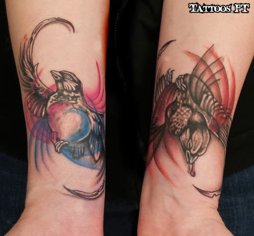 Good Vs. Evil Tattoos - 15 Amazing Collections