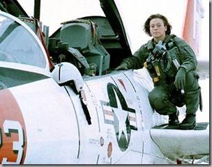 Woman Marine Pilot