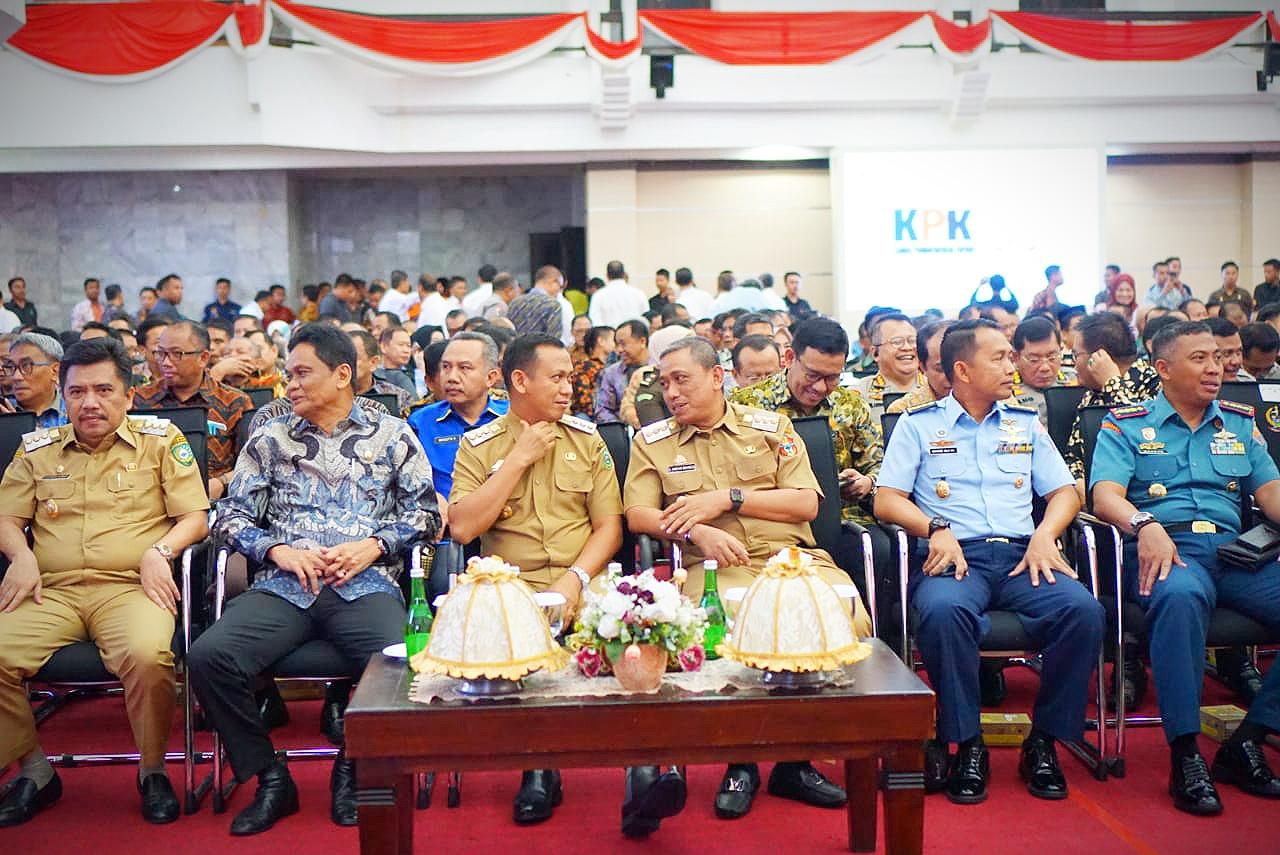 Ada 5 Arah Pembangunan Presiden Sudah Terlaksana di Wajo dari Arahan Ketua KPK RI Selama Setahun