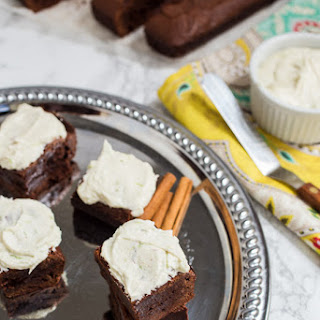 Mexican Brownies with Tequila Lime Buttercream