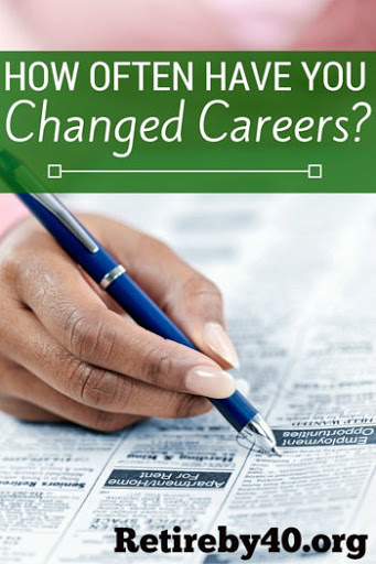 How often change career