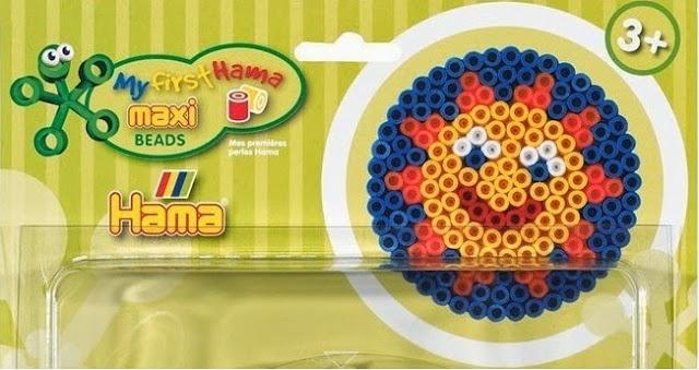 Bộ đồ chơi xếp hạt nhựa Maxi (Hama 8914) hình Mặt Trời sinh động và đẹp mắt