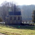 Abbaye Port-Royal des Champs : oratoire (19e s.)