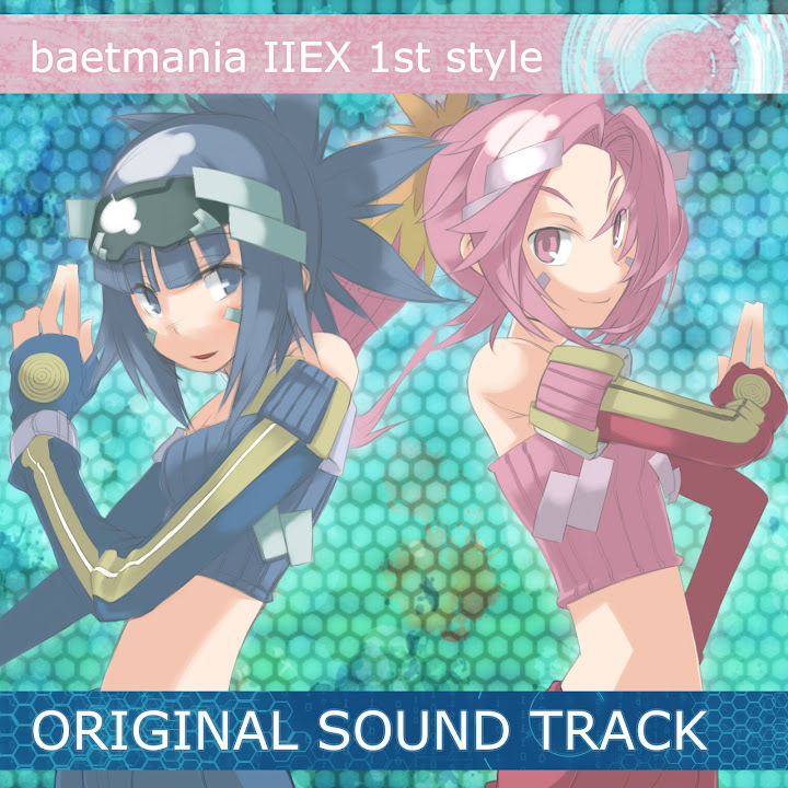 baetmania IIEX 1st style ORIGINAL SOUNDTRACK