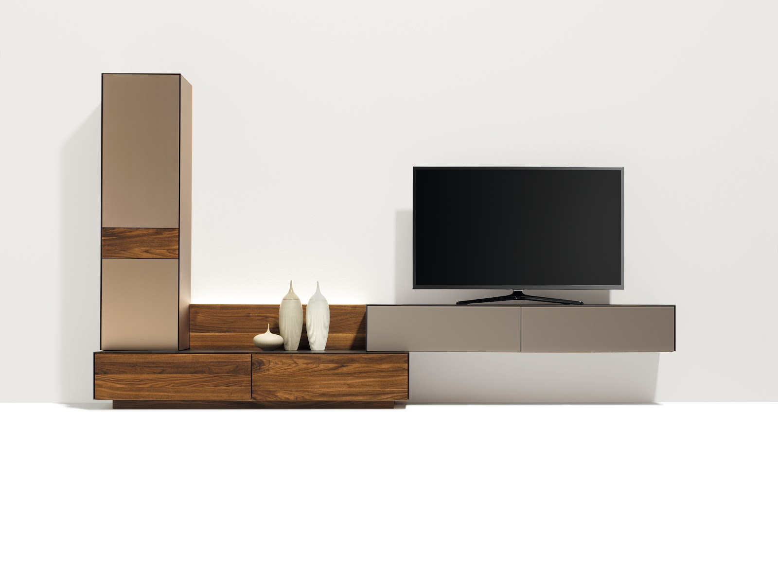 cubus zwevende tv kast noordkaap meubelen. Black Bedroom Furniture Sets. Home Design Ideas