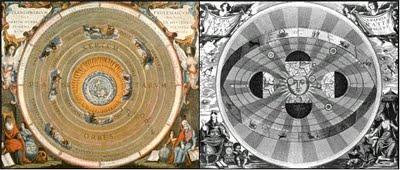 Modelos heliocéntrico y geocéntrico