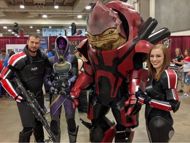 Commander Sheppard Mass Effect Cosplay