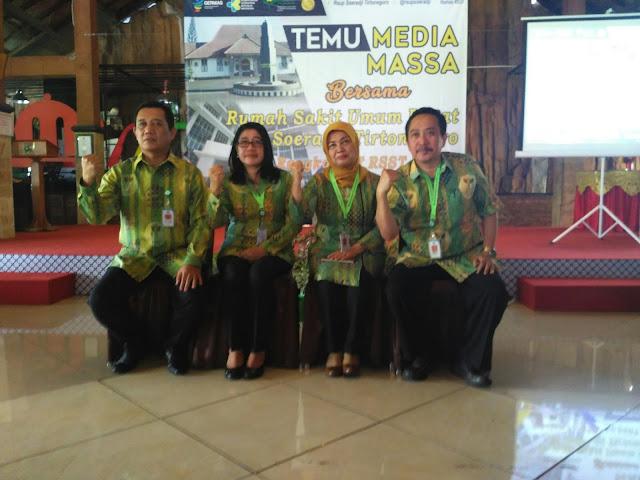 RSUP dr Soeradji Tirtonegoro Bersinergi Dengan Media Massa Tingkatkan Pelayanan, Sarana dan Prasarana Kesehatan