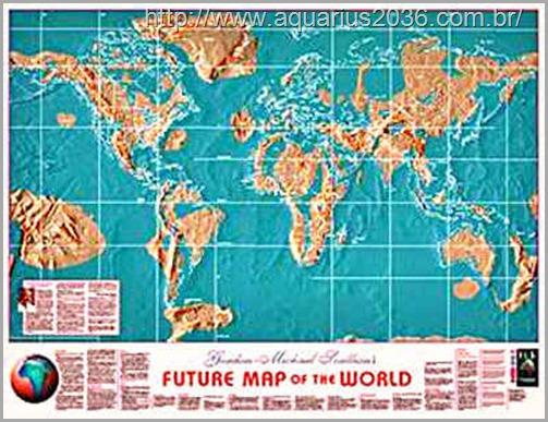 Mapa mundi após Transicao do Planeta