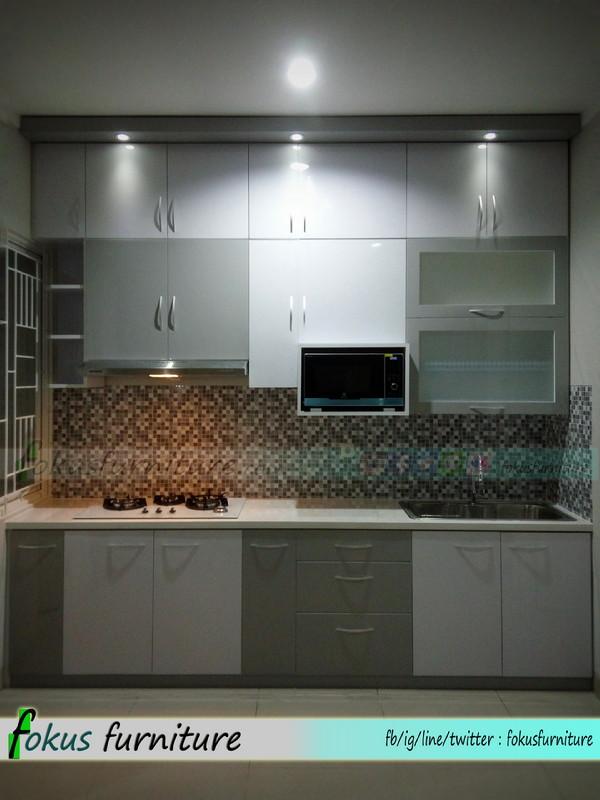 Kitchen Set Full Plafon Di Tangerang Furniture Kitchen Set