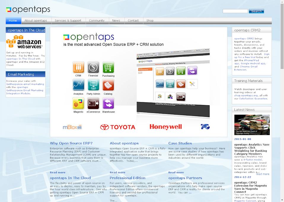 opentaps « Open Source Software