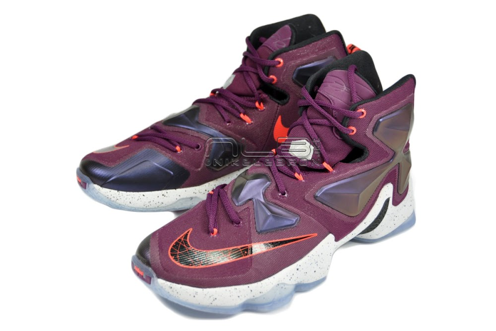 the latest 63bb2 7dc6d Nike LeBron 13 Mulberry Showcase amp First Impressions ...