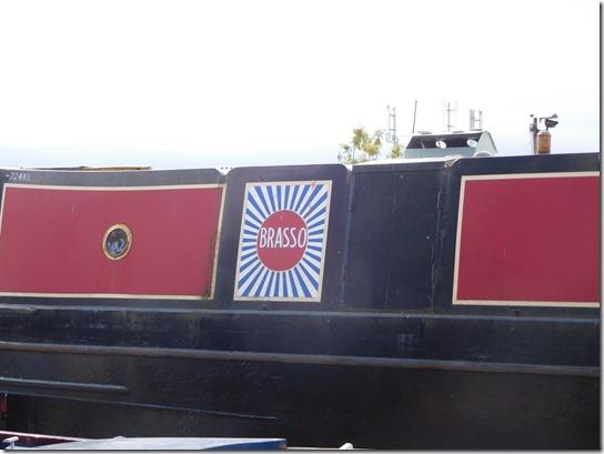 2 brasso being blacked at lyons boatyard