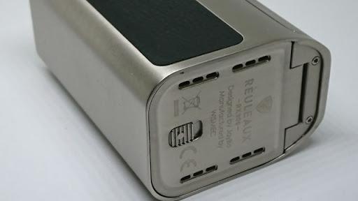 DSC 1405 thumb%25255B2%25255D - 【MOD】男のロマン「Wismec Reuleaux RX300」4本バッテリーMODのレビュー。でかくておもくてそれは鉄塊だった【ドラゴンころし】