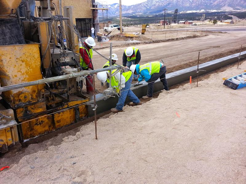 Concrete Construction projects