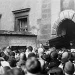 370 - Похорон композитора Stanisława Niewiadomskiego 1936р. Костел Бернардинов.jpg