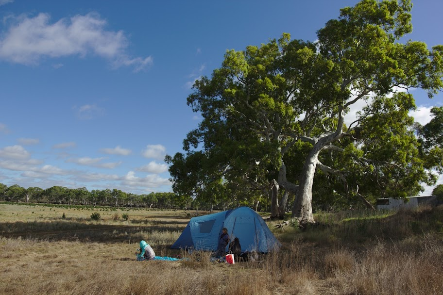 pierwszy obóz