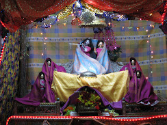 Sri Radha Mohanji in sleepingdress