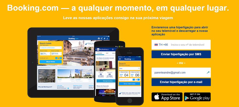 Apps de viagem Booking