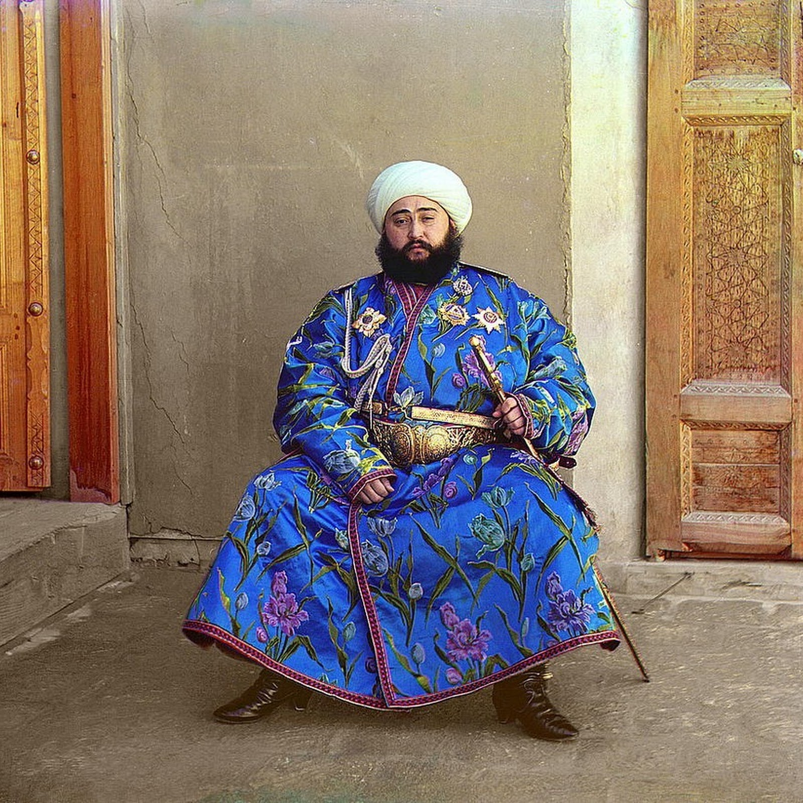 Sergei Mikhailovich Prokudin's Color Photographs of Pre-Revolution Russia