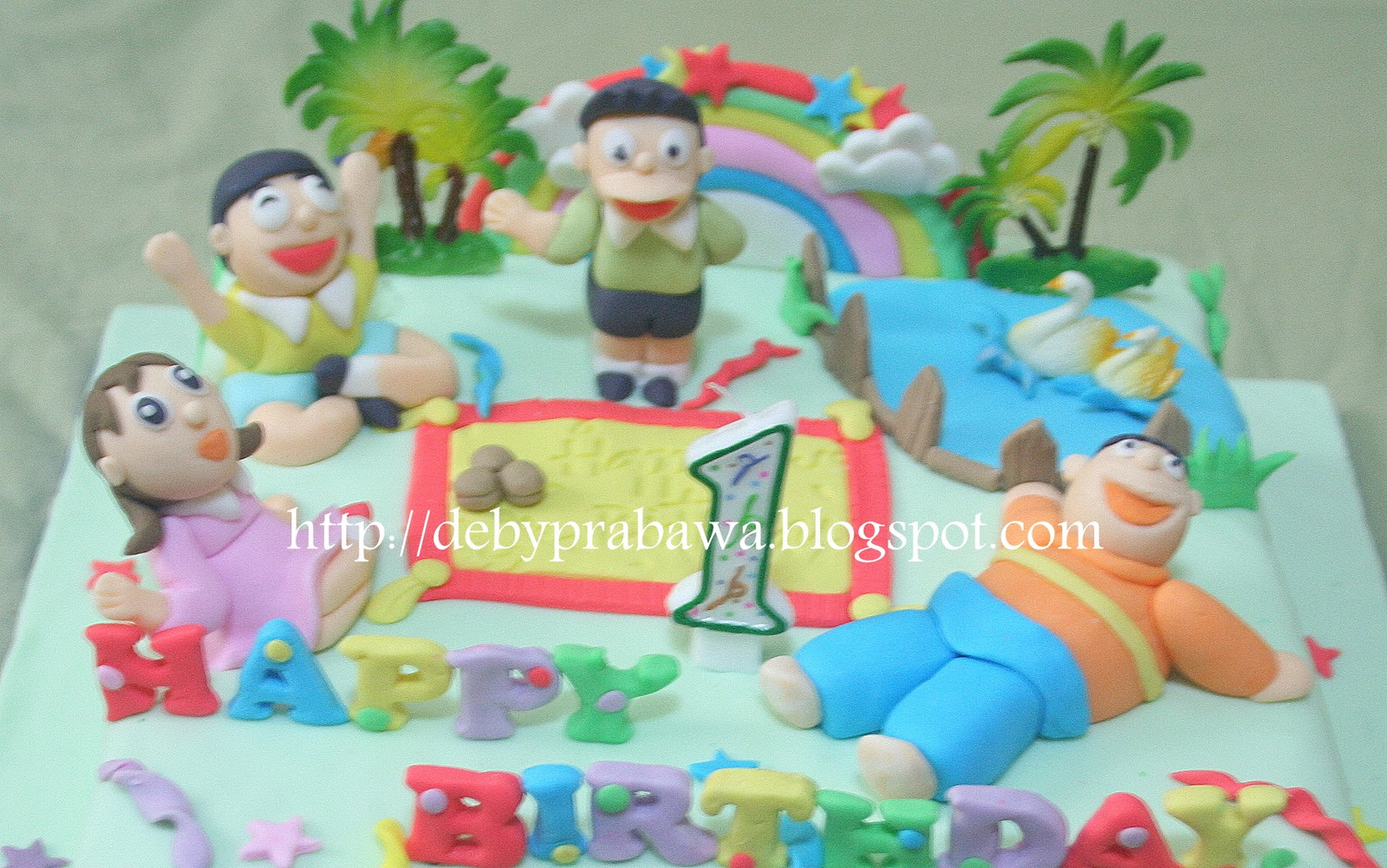 Doraemon Images For Cake : Doraemon And Friends Cake www.pixshark.com - Images ...