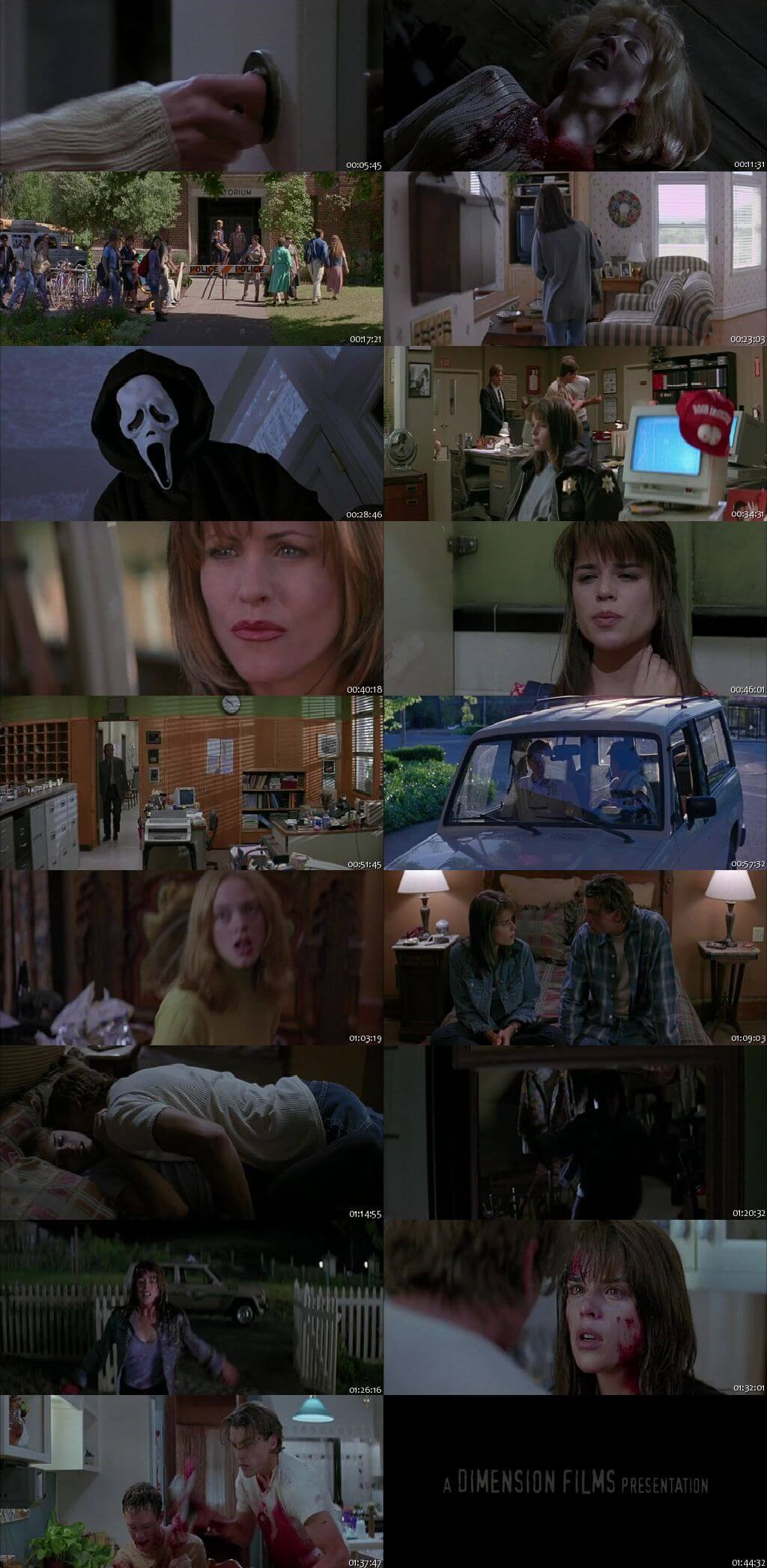 Screen Shot Of Scream 1996 300MB Full Movie Hindi Dubbed Free Download 480P BRRip Small Size PC Movie